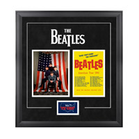 The Beatles &quot;1964 U.S. Tour&quot; Framed Presentation