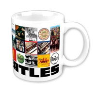 The Beatles Discography Mug