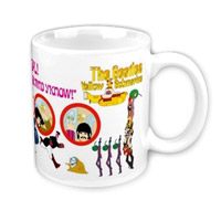 Yellow Submarine Character Mug