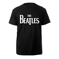 The Beatles White Logo Tee