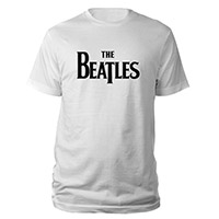 The Beatles Black Logo Tee