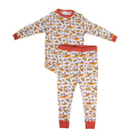 Yellow Submarine Long Sleeve Loungewear Set