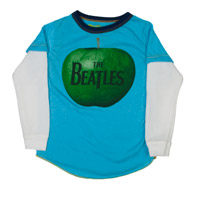 The Beatles Apple Logo Long Sleeved Tee