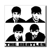 The Beatles Portrait Magnet
