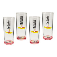 Yellow Submarine Glass Set