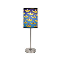 Yellow Submarine Lamp Shade and Base