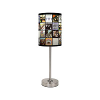 The Beatles Discography Lamp Shade and Base