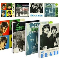 Exclusive Beatles Store 'Ones' Block Frame Canvas Print Set