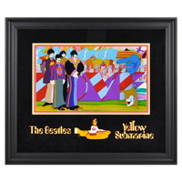 "The Beatles ""Yellow Submarine"" Framed Presentation"