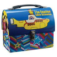 Yellow Submarine Dome Tin Tote