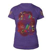 The Beatles Love Collage Women's T-Shirt