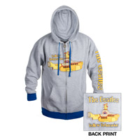 Yellow Submarine Zip-Up Hoody
