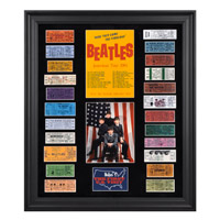 "The Beatles ""1964 U.S. Tour"" Framed Presentation With Replica Tickets"