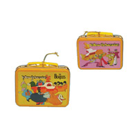 Yellow Submarine Tin Lunch Box Ornament