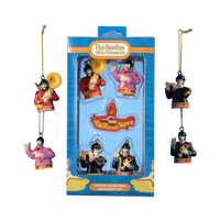 Yellow Submarine 5 Piece Ornament Set