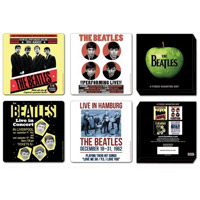 The Beatles 1962 Four Piece Coaster Set