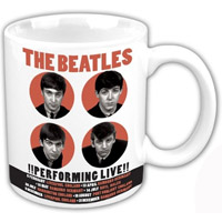 The Beatles 1962 '!Performing Live!' Boxed Mug