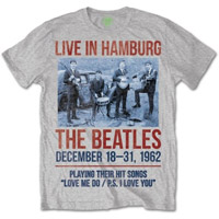 The Beatles 1962 'Live In Hamburg' T-Shirt