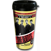 The Beatles 1962 'Live Performance With New Drummer' Travel Mug