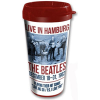 The Beatles 1962 'Live In Hamburg' Travel Mug