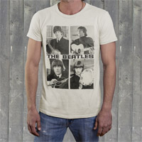 "The Beatles ""Act Naturally"" Mens Crew Shirt"