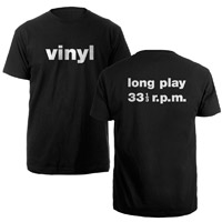 Beatles.com online Exclusive Vinyl T-shirt