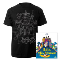 Blu-ray, Mens Black Sketches Exclusive T-Shirt.