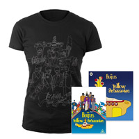 DVD, Womens Black Sketches Exclusive T-Shirt &amp; Midi Book.