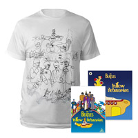 DVD, Mens White Sketches Exclusive T-Shirt &amp; Midi Book.