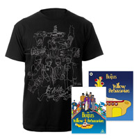 DVD, Mens Black Sketches Exclusive T-Shirt & Midi Book.