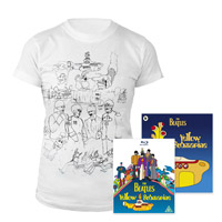 Blu-ray, Womens White Sketches Exclusive T-Shirt &amp; Midi Book.