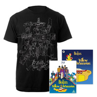 Blu-ray, Mens Black Sketches Exclusive T-Shirt &amp; Midi Book.