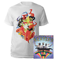 Magical Mystery Tour DVD Tee Bundle