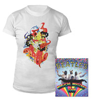 Magical Mystery Tour DVD Women's Tee Bundle