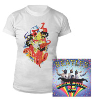 Magical Mystery Tour Blu-Ray Women's Tee Bundle