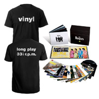 The Beatles In Stereo Vinyl Box (& Exclusive Promotional T-shirt)