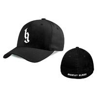 BG White Logo Flex Hat