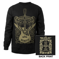Bridge School Benefit Long Sleeve Event Tee