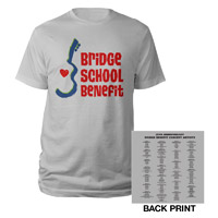Bridge School Benefit 25th Anniversary Tee