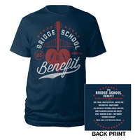 Bridge School Benefit Navy Event Tee