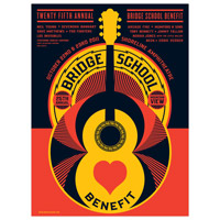 Bridge School 25th Anniversary Poster