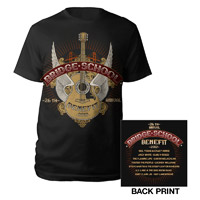 Bridge School Benefit Winged Guitar Event Shirt