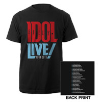 Billy Idol Live! Tour 2013 Tee
