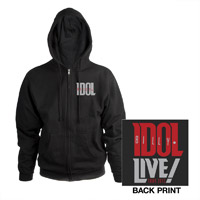 Billy Idol Live! Tour 2013 Zip Hoodie