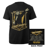 Bob Seger Vintage Black Photo Tee