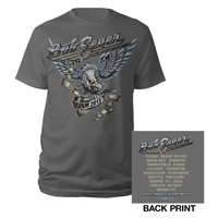 Bob Seger Silver Eagle Tour Shirt