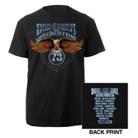 Bob Seger Glowing Eagle Tour Shirt