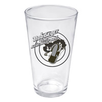 Bob Seger Girls on the Bullet Pint Glass
