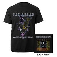 Bob Seger American Storm Tour Shirt