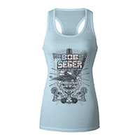 Vintage Like a Rock Women's Racerback Tank